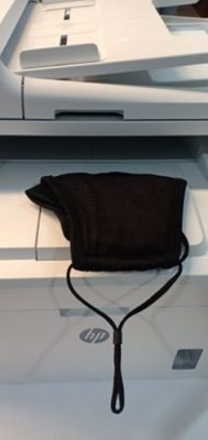 Rich Black Adjustable Anti Fog photo review
